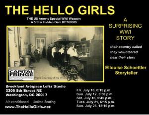 2015 Hello Girls Poster